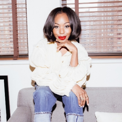 KAHLANA  BARFIELD BROWN    Featured 4.30-5.6.18 Fashion + Beauty Expert, Denim Lover + Professional Connect Four Player