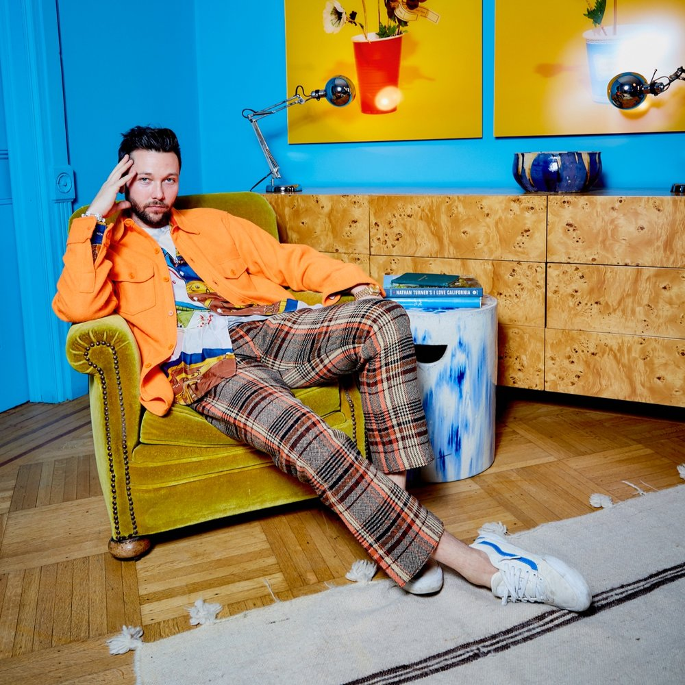 CHRIS  BENZ    Featured 3.11-3.17.19 Creative Director, Designer  + Ray of Human Sunshine