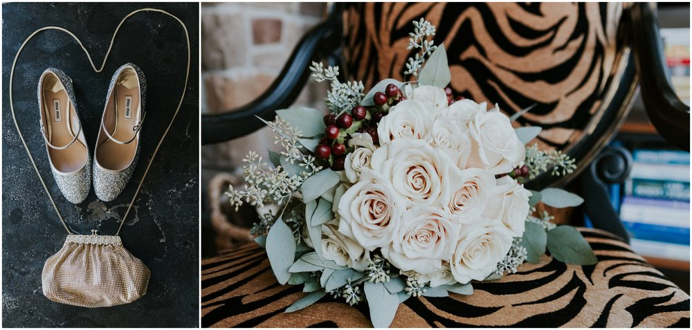 We loved these details, from the Miu Miu Shoes, to the this lovely bouquet!