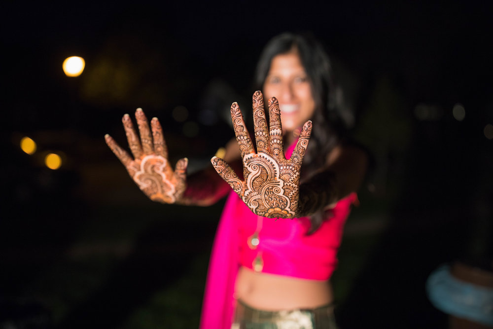 Mendhi - A traditional Indian Pre-Wedding Ceremony for the Bride