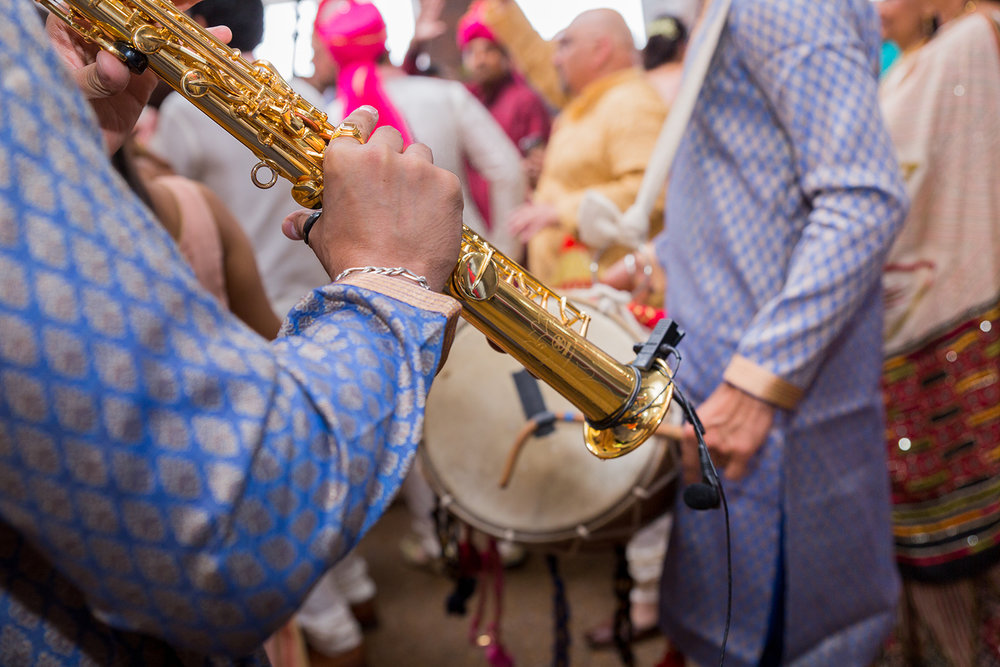 Le Cape Weddings - Sumeet and Chavi - Baraat --82.jpg