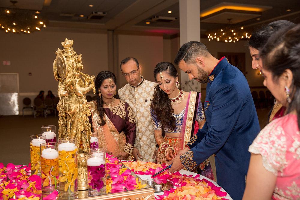 Le Cape Weddings - Puja and Kheelan - Garba A   -187.jpg