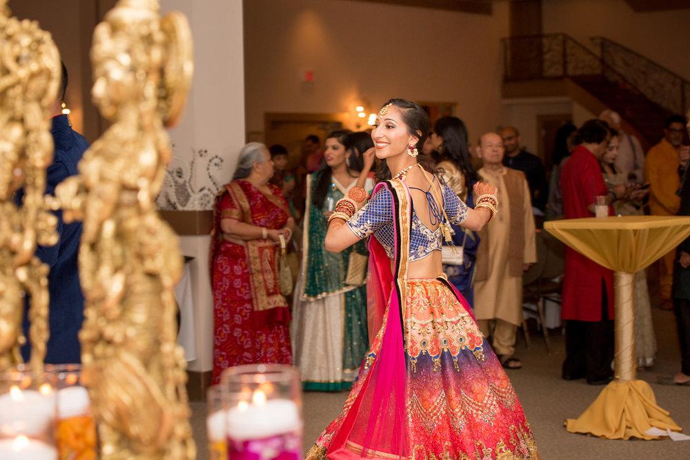 Le Cape Weddings - Puja and Kheelan - Garba A   -193.jpg