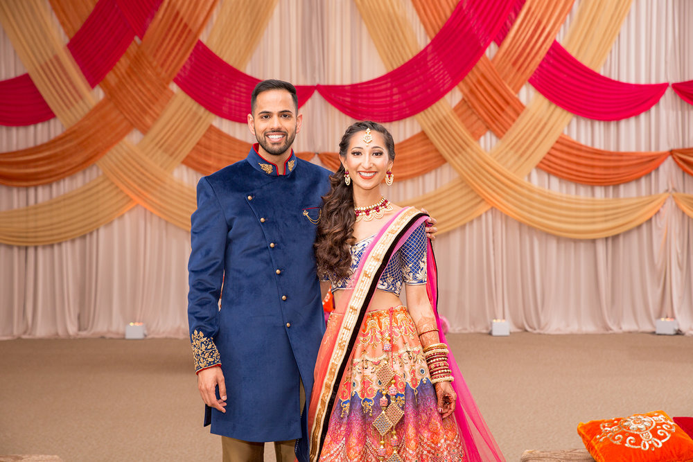 Le Cape Weddings - Puja and Kheelan - Garba A   -93.jpg
