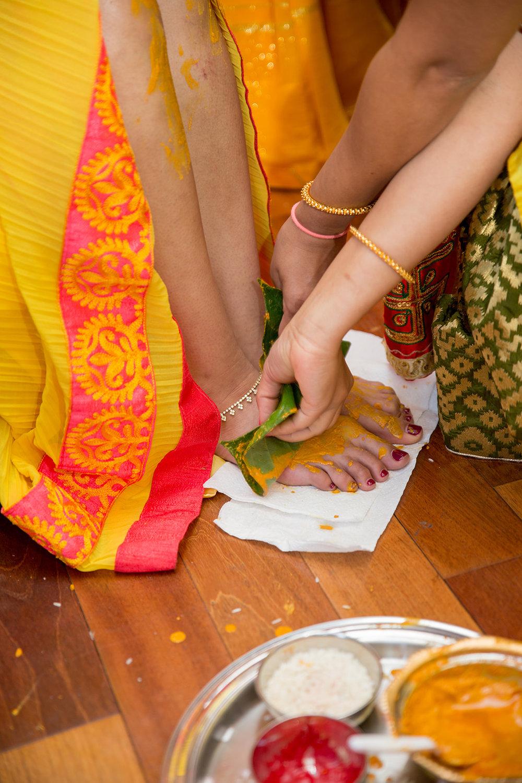 Le Cape Weddings - Puja and Kheelan - Pithi A   -87.jpg