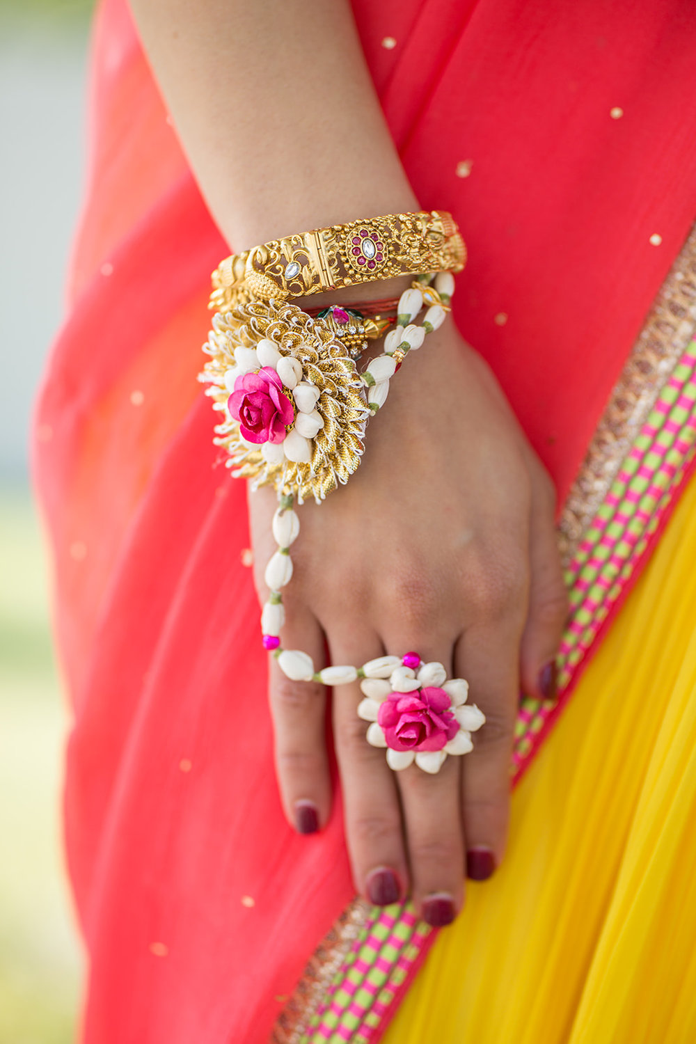 Le Cape Weddings - Puja and Kheelan - Pithi A   -52.jpg