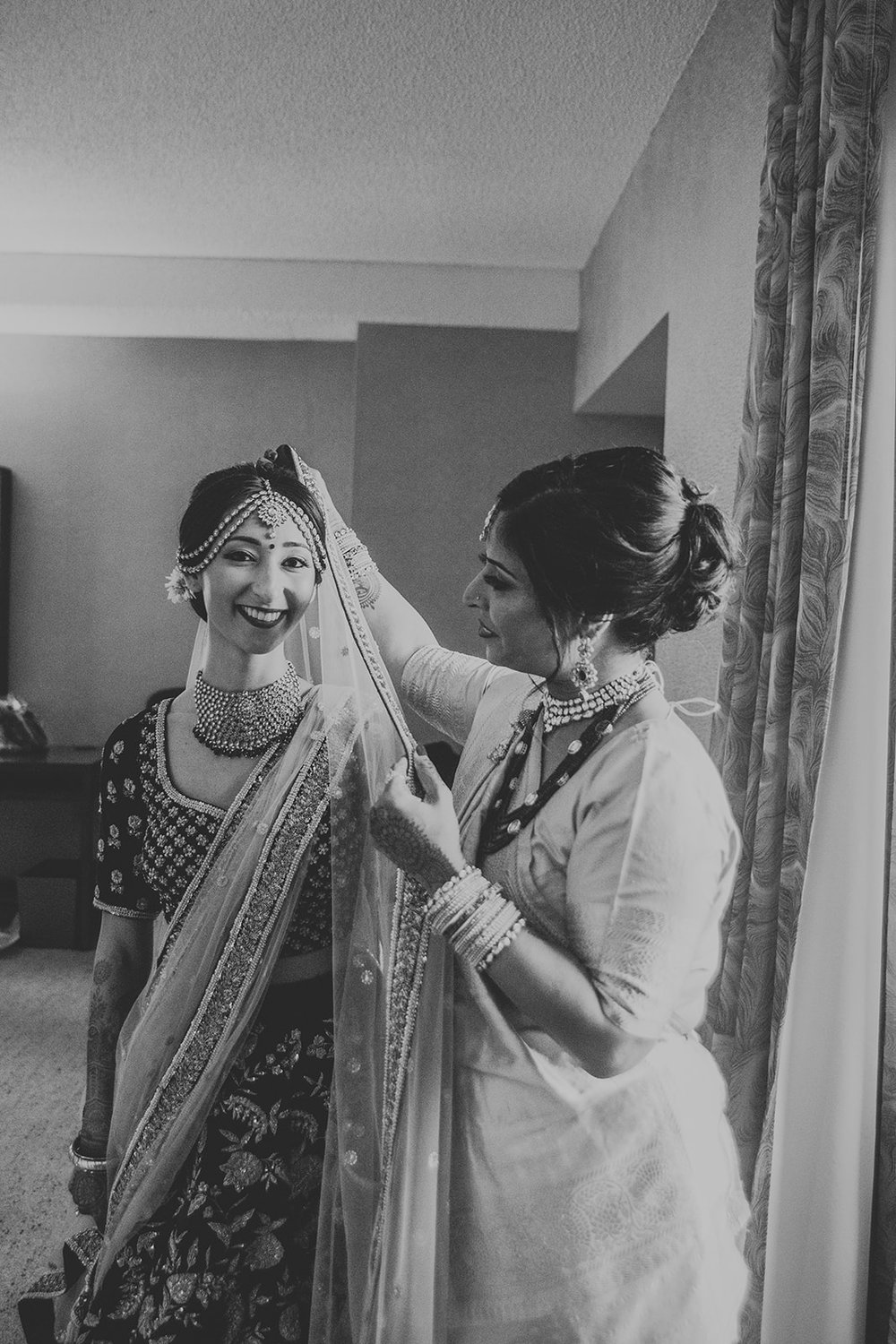 Le Cape Weddings - Puja and Kheelan - Getting Ready Bride -59.jpg