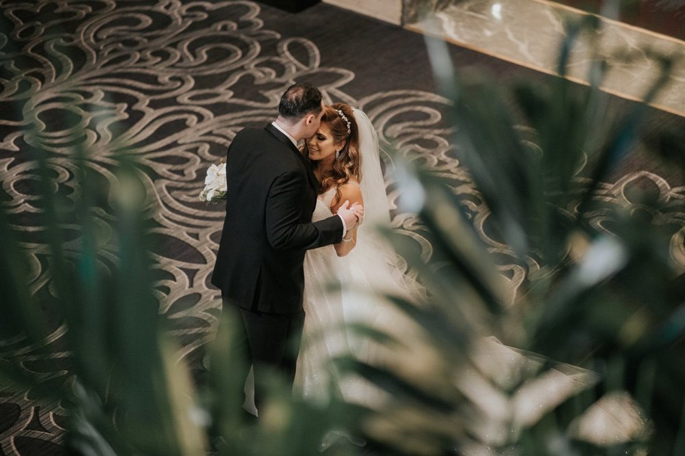 Le Cape Weddings - Laila and Anthony - Chicago Wedding - First Look and Couple Portraits -25.jpg