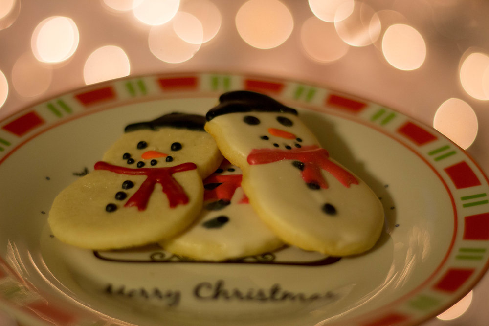Cream Cheese Sugar Cookies with Royal Icing. Photo Courtesy of  Hillary Alane Photography