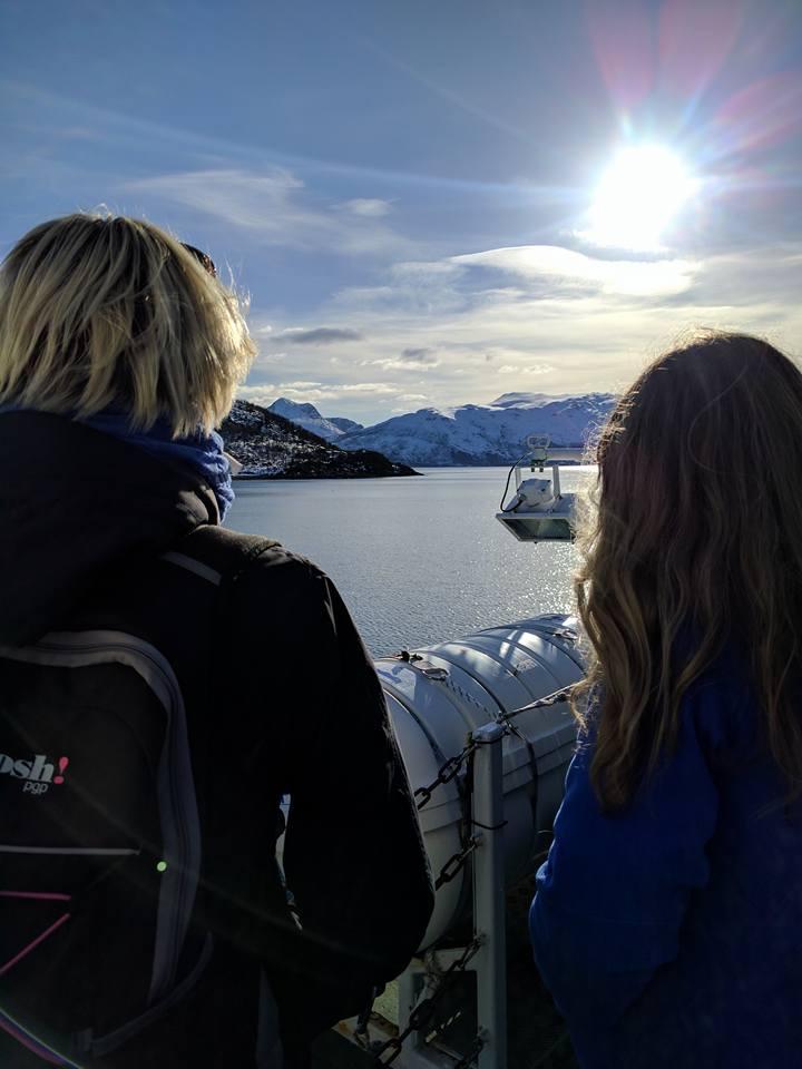 på ferga til Vengsøy