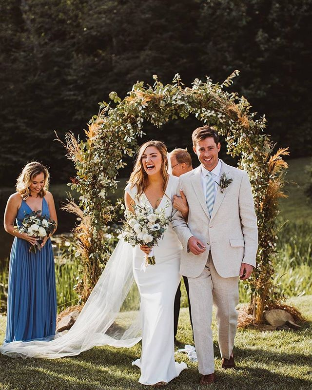 Images like this make us so so happy! We loved working with Leah and Raleigh to plan their destination wedding in Highlands, North Carolina. Visit our Facebook to see more images of their perfect day!