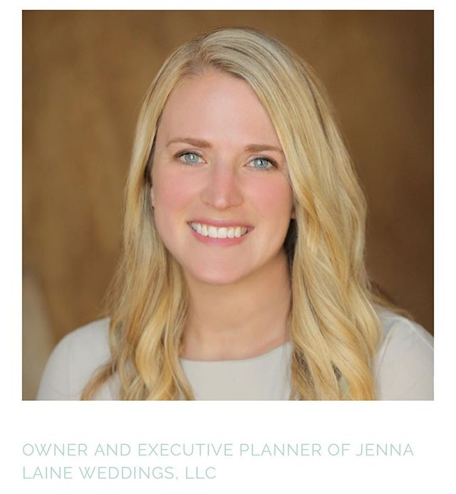 Meet Jenna- owner and executive planner at Jenna Laine Weddings. Click the link in our bio to read about Jenna's story and why she loves being a wedding planner!  Photo by @denniskwanphoto