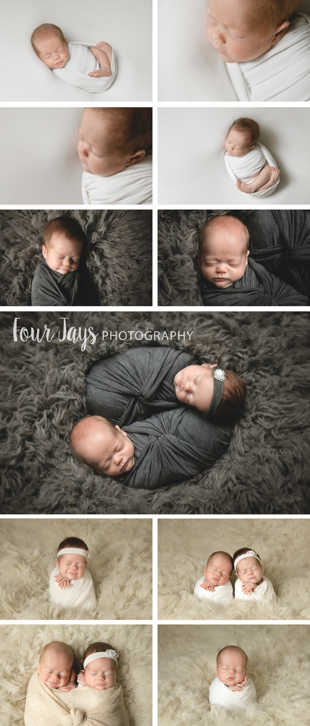 In home newborn twins lake oswego oregon photographer posed wm.jpg