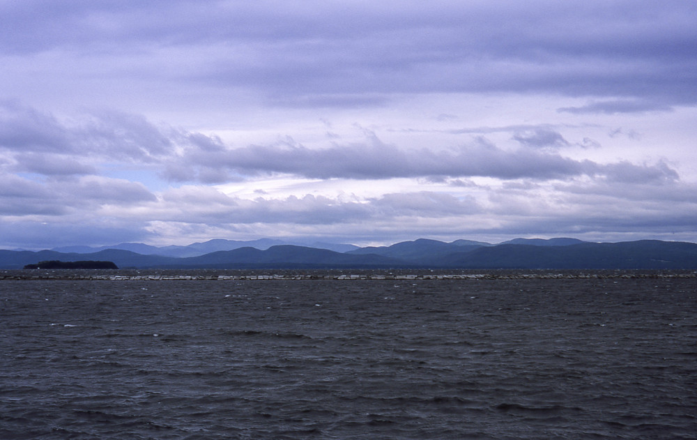 Lake Champlain, Burlington, Vermont   Leica M6, 35mm Summicron, Fujifilm Provia 35mm film