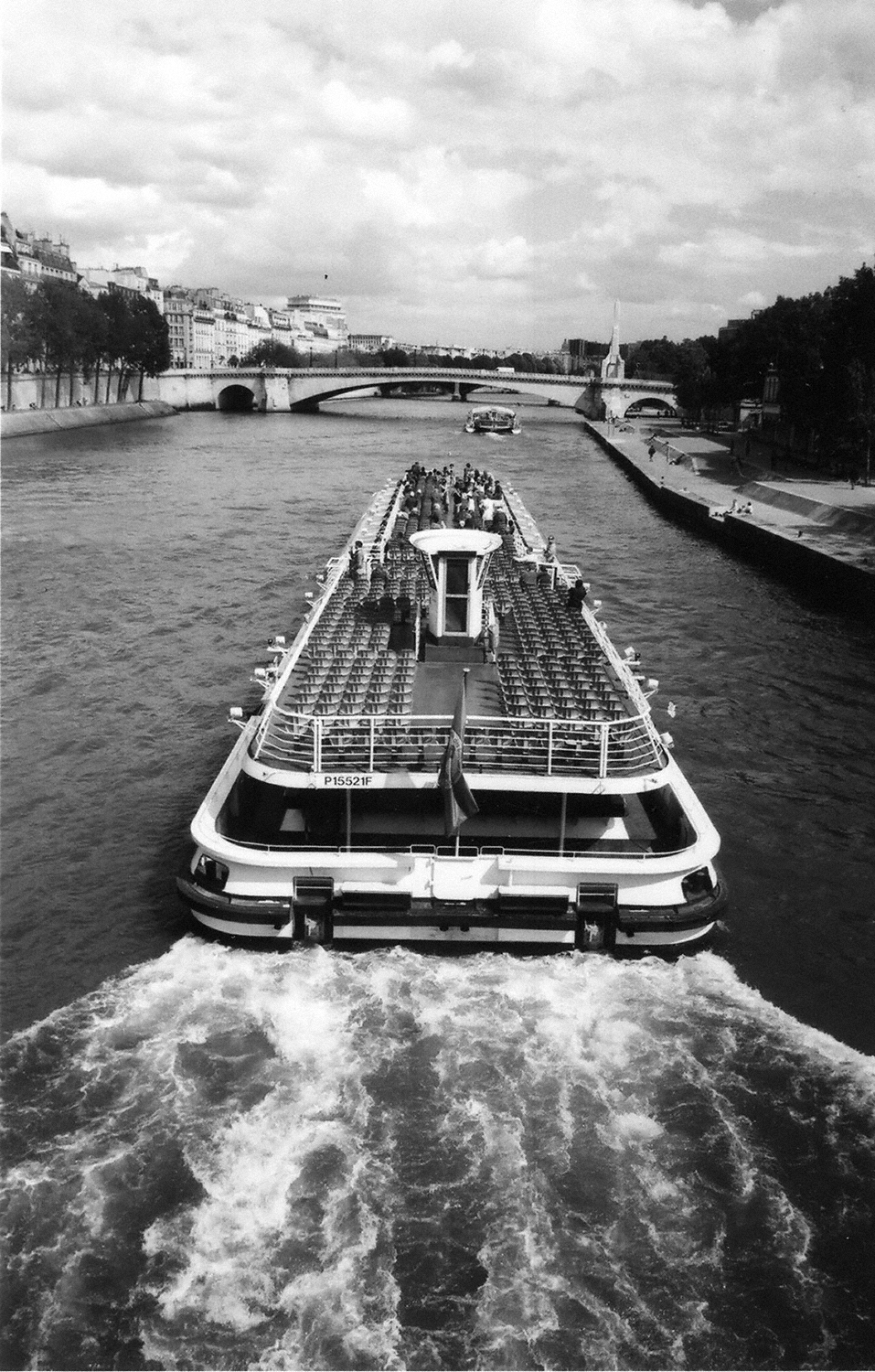 Paris: Tourist Barge