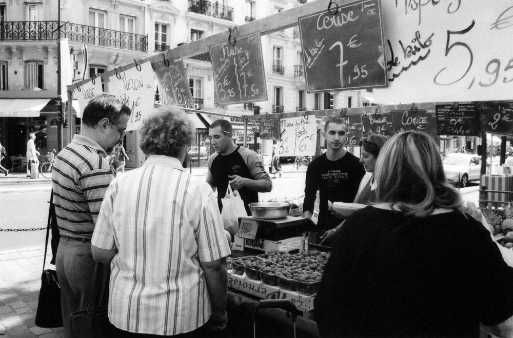 Paris: Market