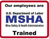 MSHA Certified