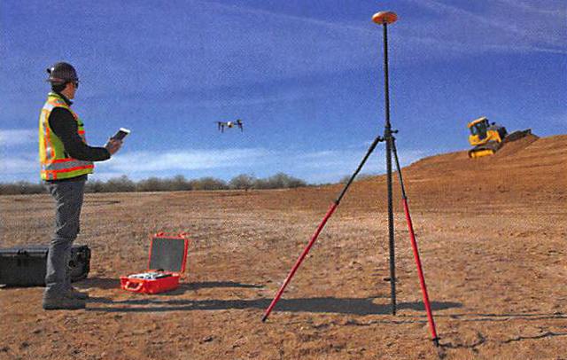 Aggregate produces more open to using drones