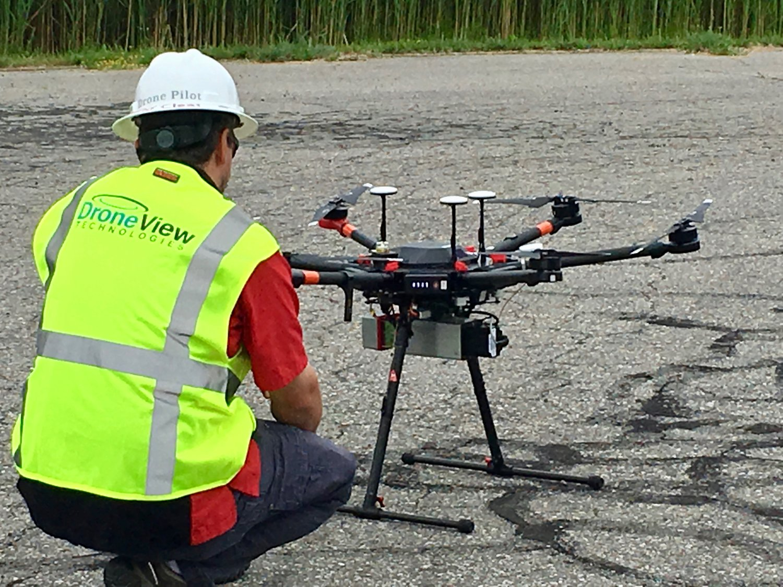 Project Spotlight: UAV LiDAR — DroneView Technologies