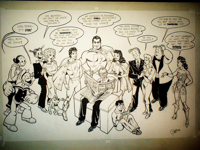 Private commission: Jim and His Favorite Funnies (2011)