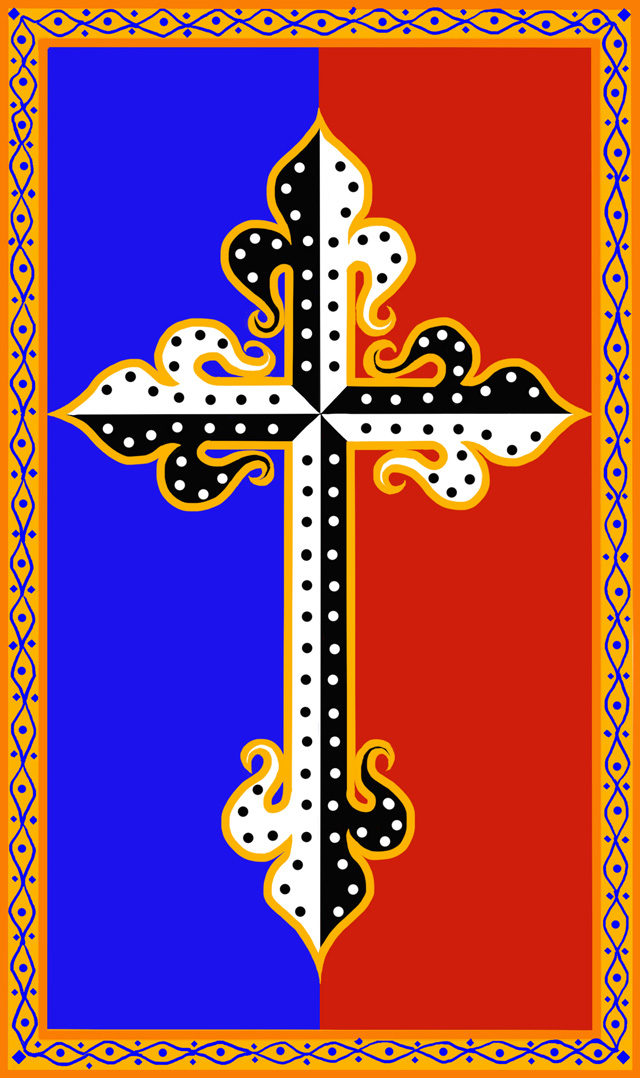 Zanmi Beni Dominican cross (2015)