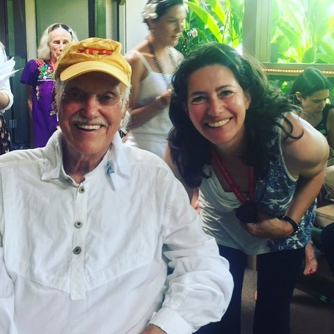 What a joy to be with Ram Dass!
