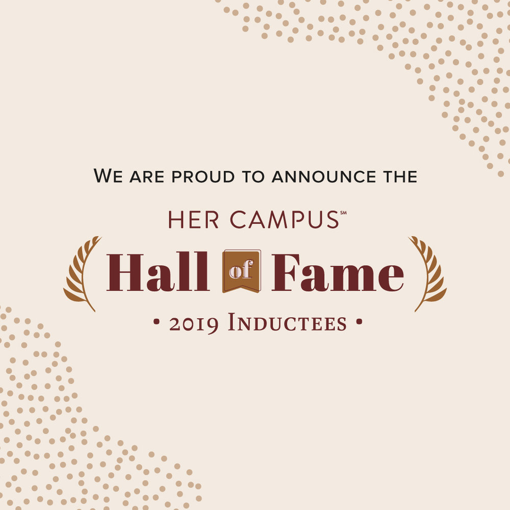 d0d7321a Her Campus Media Inducts Ten Alums Who Are Industry Leaders to 'Hall of  Fame'