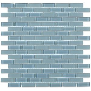 Grey Blue 1/2x2 Brick