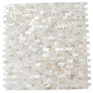 White Pearl Seamless Brick
