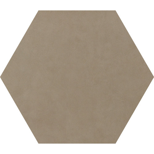 "24"" Hex Taupe"
