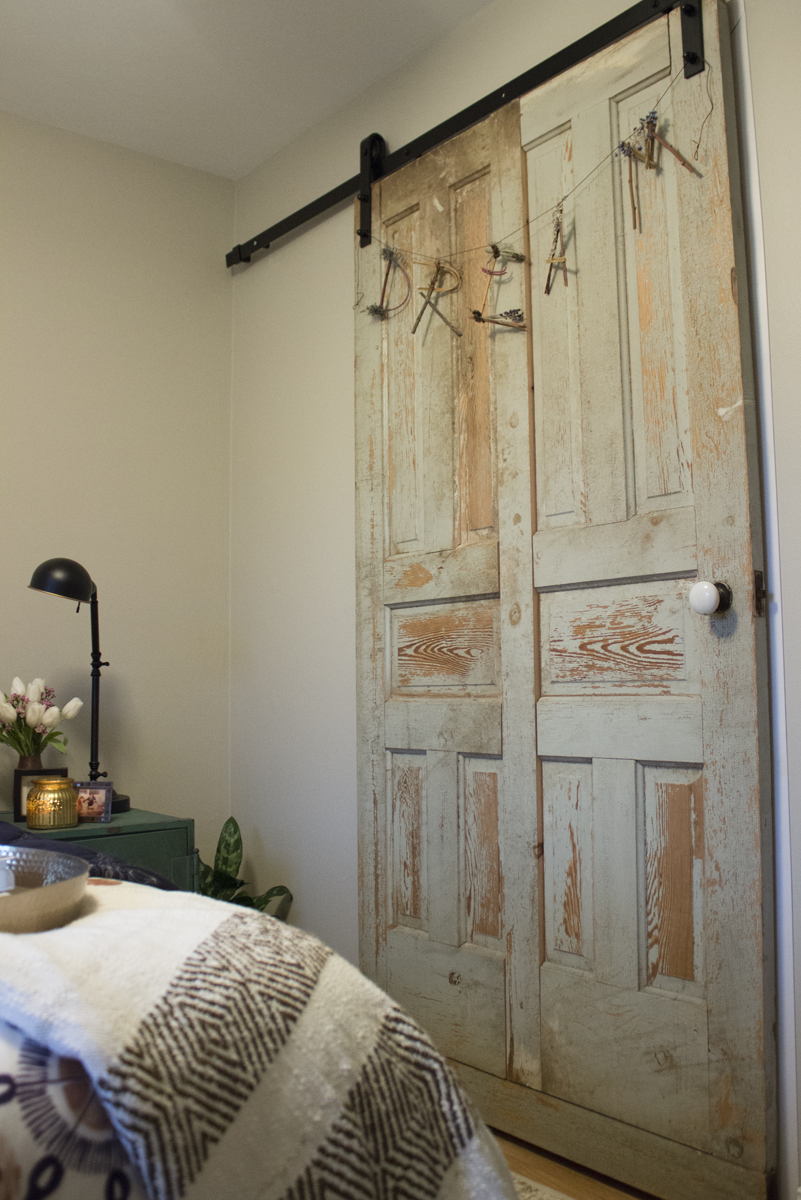 Ranch Guest Room Vintage Door.jpg