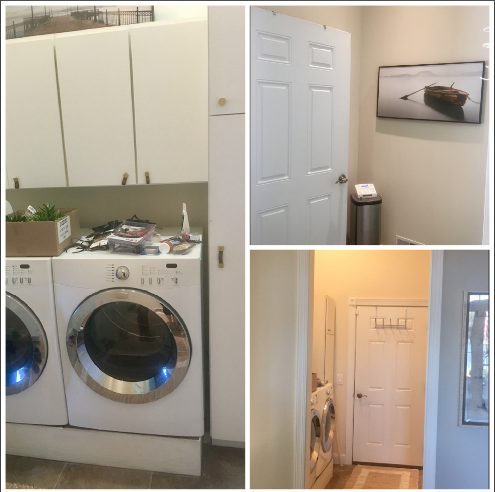 Laundry/Mudroom Before Collage