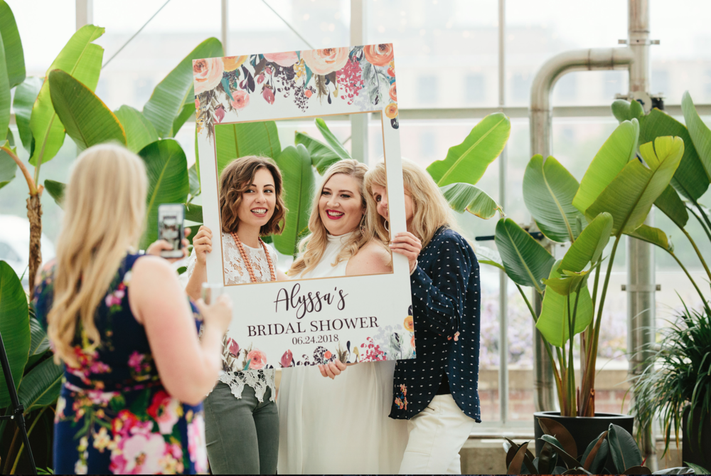 Bridal Shower photo prop