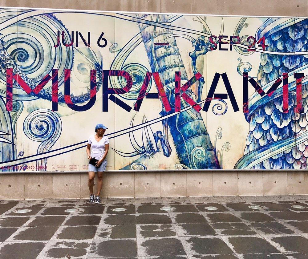 6.14.17 - Takashi Murakami Exhibit @MCA Chicago