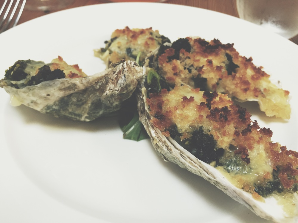 Cannon Green Oysters