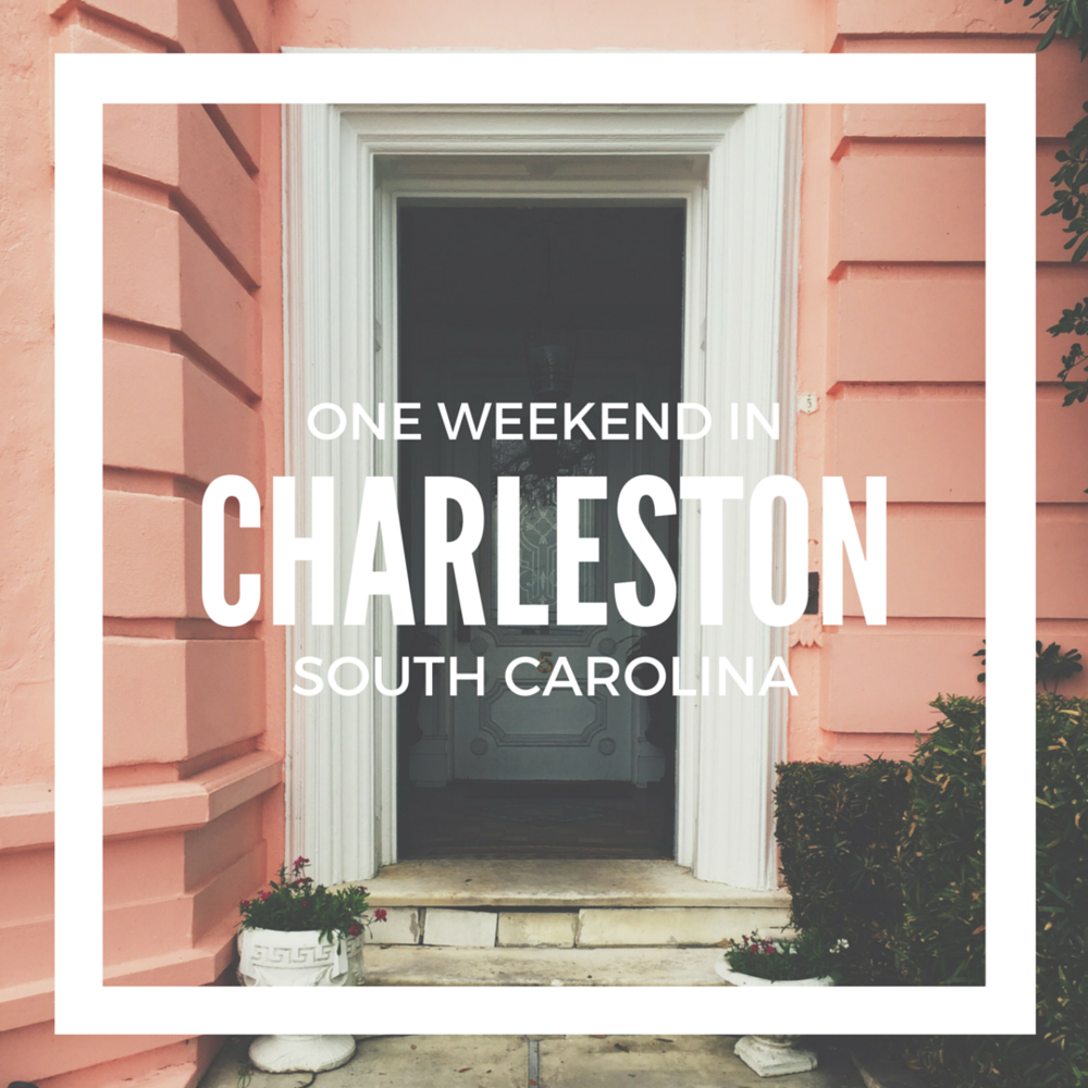 One Weekend In Charleston W Text