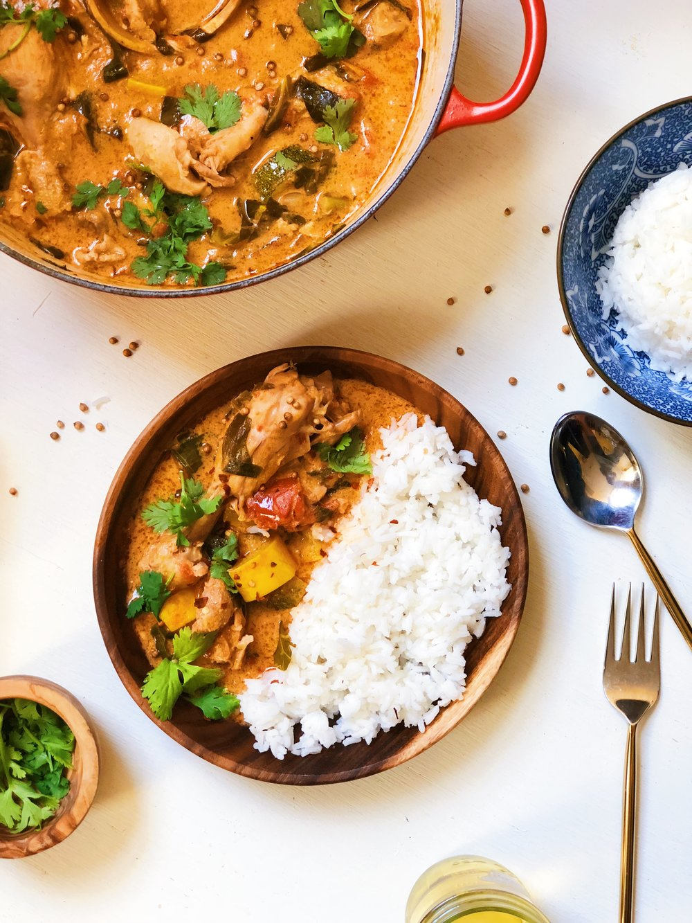 Peanut Butter Chicken Stew - Tati Chin