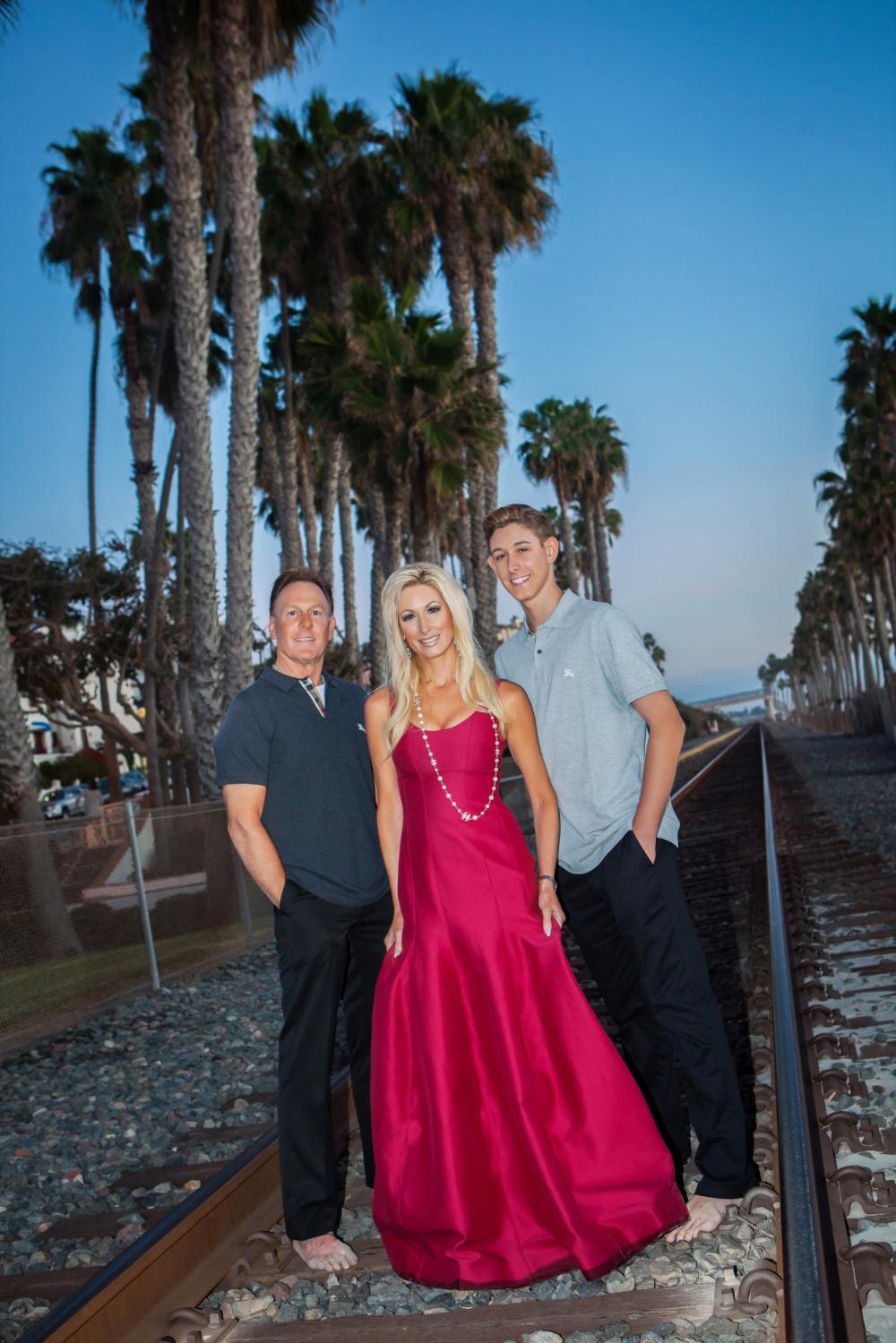San Clememte, California Family Portrait Photography