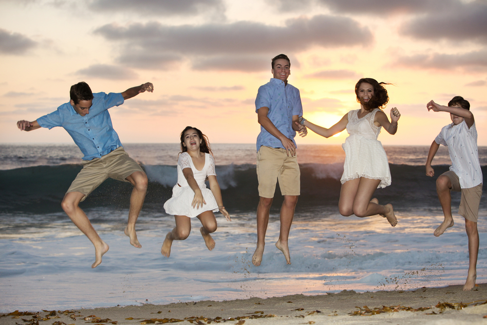 val-westover-photography-family-sunset-beach-jumping