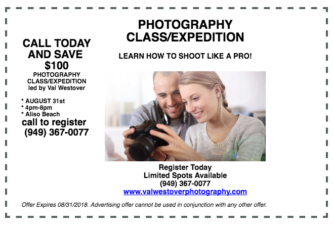 val westover photography august class expedition special