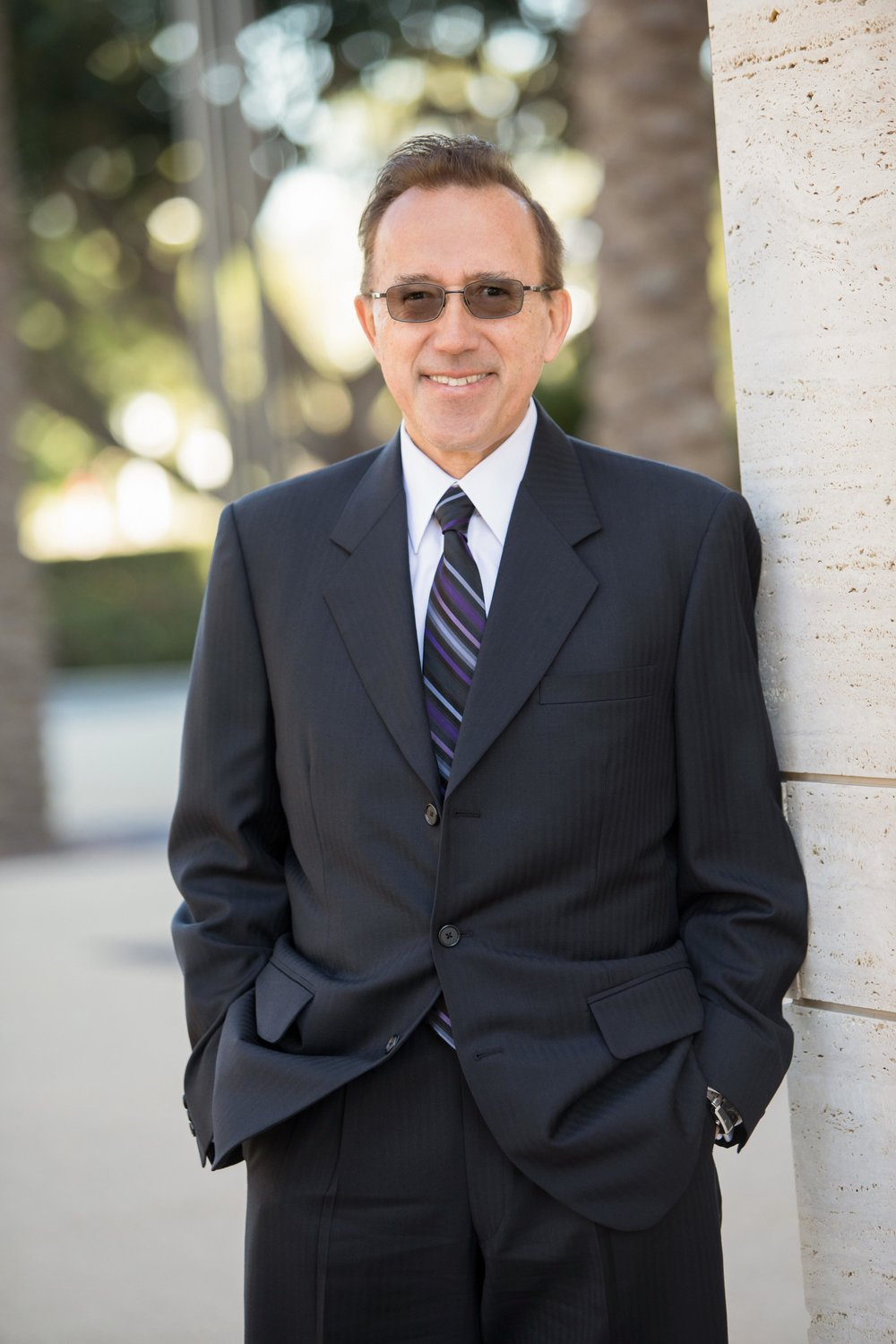 Professional corporate headshot and team photography for Merrill Lynch financial advisors men