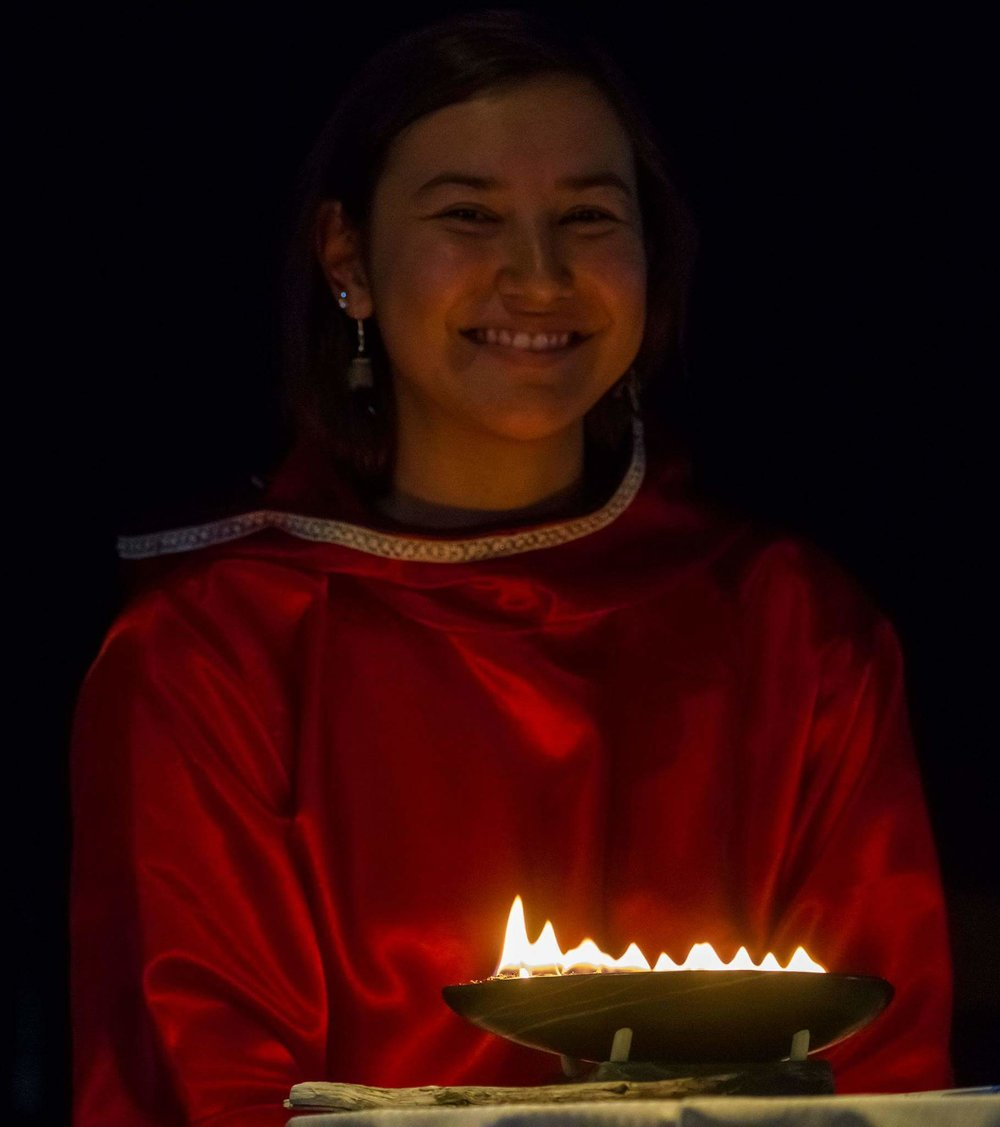 Jennifer Kilabuk - Iqaluit, Nunavut - Jennifer is the Adaption Policy Advisor for the Nunavut Climate Change Secretariat in Iqaluit.  In this role, she works to assist Nunavummiut with Climate Change issues and find adaptive solutions so that Nunavummiut may live a more resilient future. She is a passionate culturalist and environmentalist. She advocates for Inuit and Nunavummiut involvement in climate change discussions across all governments and organizations, locally and nationally. She believes the key to climate change adaptation is traditional and modern knowledge mobilization and communication.