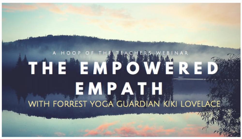 Empowered Empath webinar