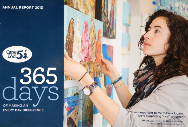 Cover of Cape Cod Five Annual Report 2013