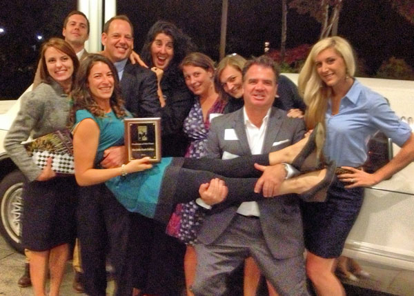 The Little Beach Gallery recipient of Business of the Year Award :: Hyannis Area Chamber of Commerce, October 2013