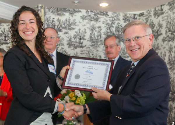 """Little Beach Galley awarded SCORE's """"Build a Better Mousetrap Award"""" :: In conjunction with the Hyannis Chamber of Commerce May 2014"""