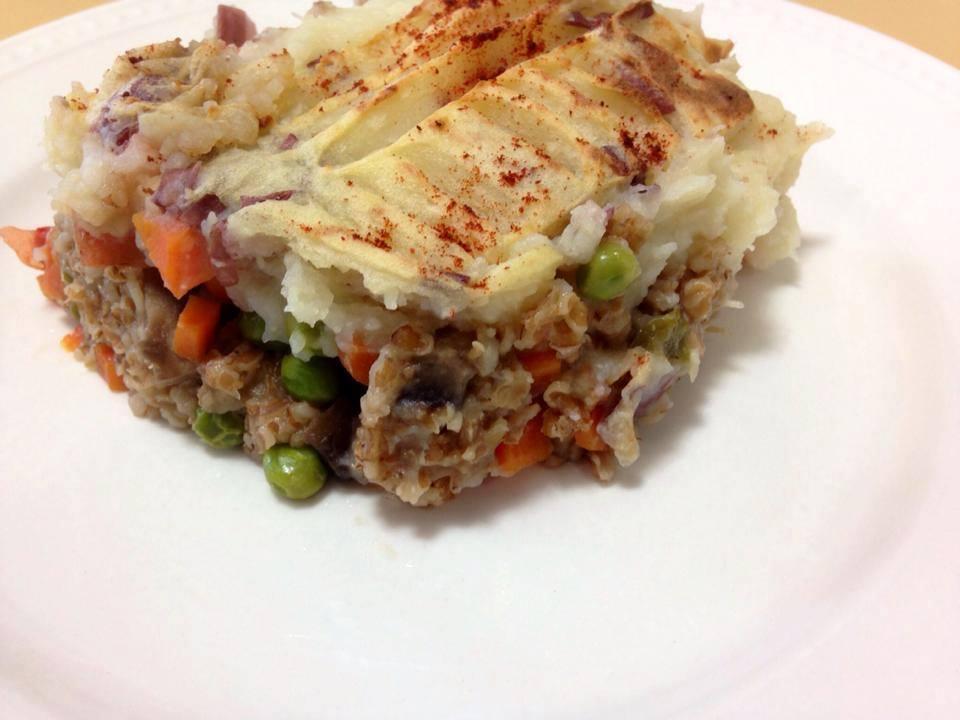 Laura's Meatless Shepherd's Pie - Very Tasty!