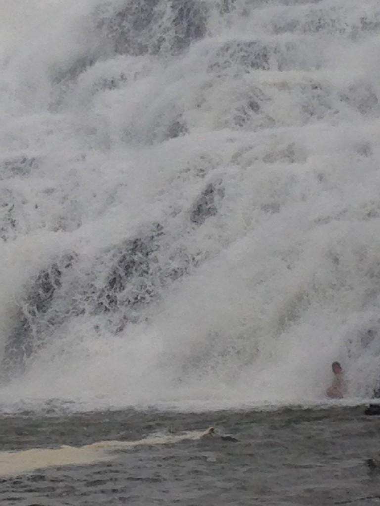 Guy in Ithaca Falls
