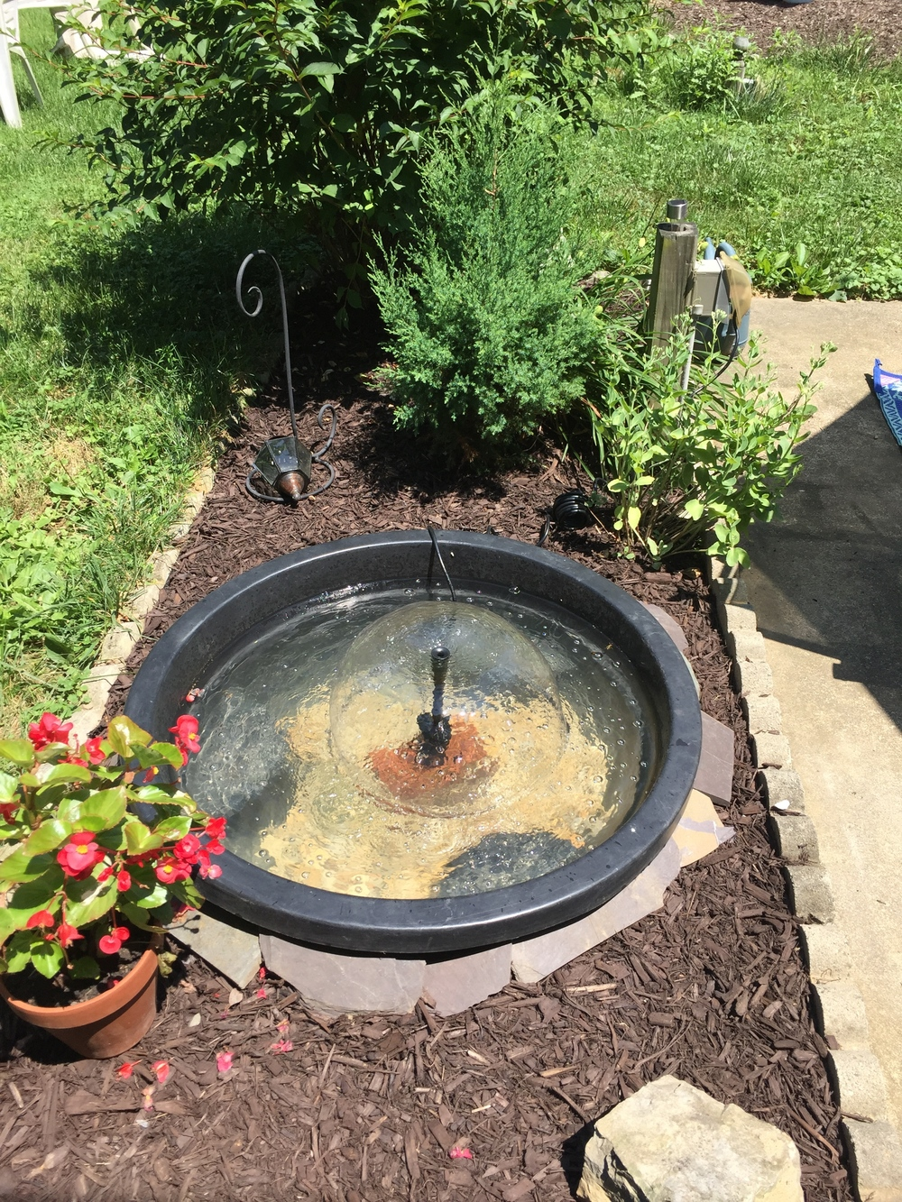 how to install a backyard water fountain for under 150 u2014 plant