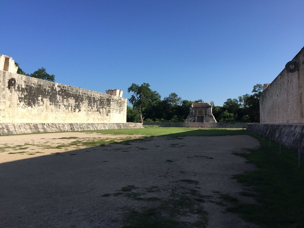 The Ball Court of Chichen Itza